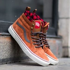 Vans Sk8-Hi MTE Suede Repellent Skate Shoes NIB